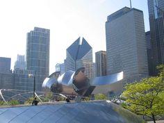Chicago - Millenium Park - instalacje Chicago - Illinois - USA #Chicago #Illinois #USA #photography #city #Polacy_w_USA #Polonia #wietrzne #miasto #windy #city
