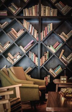 Cozy Reading Room For Your Interior Home Design 51 Villa Design, Design Hotel, House Design, Home Library Design, Modern Library, Bibliotheque Design, Library Room, Library Corner, Dream Library
