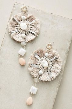 Anthropologie Tesoro Drop Earrings