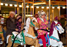 2014 Old Fashioned Village Christmas, Lucky Clover Saddle Horse | Flickr