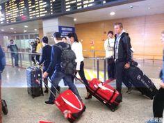 Kimi Raikkonen with girlfriend@ Shanghai.China