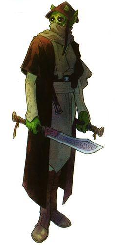 Rodian Jedi Weapon Master.