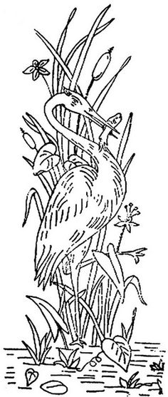 1886 Ingalls Stork w Fish Scene by jeninemd, via Flickr