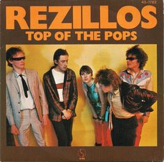 "Rezillos - Top Of The Pops [1978, Sire Records 45-1782│Spain] - 7""/45 vinyl record"