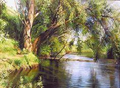 """Roman Romanov, """"By the lake"""" 2001"""