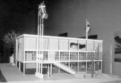 Spanish Pavilion,  Paris 1937, Josep lluís Sert