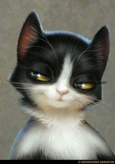 Sly kitty Purple Cat, Cat Art, Aqua, Pets, Illustrations, Kitten, Cat, Animaux, Water