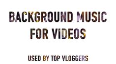 Found this great source of background music tracks to spice up my youtube videos. Used by top youtube vloggers, nice and easy to use site. All royalty free, only $5 per track. https://www.foximusic.com.