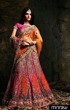 Gorgeous wedding lehena choli