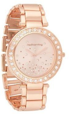 ShopStyle: Womens rose stone case watch