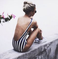 Sun kissed sporty chic