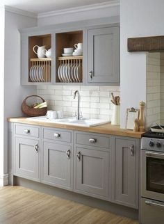 Uplifting Kitchen Remodeling Choosing Your New Kitchen Cabinets Ideas. Delightful Kitchen Remodeling Choosing Your New Kitchen Cabinets Ideas. Country Kitchen Farmhouse, Country Kitchen Designs, Modern Farmhouse, Kitchen Rustic, Modern Rustic, Farmhouse Kitchen Cabinets, Kitchen Cabinet Design, Grey Kitchens, Home Kitchens