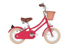 The Bobbin Gingersnap classic vintage kids bike with wicker basket is a refined and stylish Junior bicycle for year olds that your mini-Bobbin rider will cherish. Featuring colour-matched mudguards and chain guard, it's also very practical. Peugeot, Best Instagram Feeds, Vegetable Leather, Kids Bicycle, Bike Brands, Conkers, Duck Egg Blue, Ginger Snaps, Tricycle