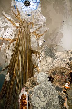 Swoon at the Brooklyn Museum, through August 24