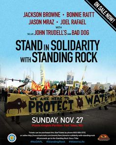 Jackson Browne - Jason Mraz Joins Jackson Browne And Bonnie Raitt For A Benefit Concert At Standing Rock To Stand In Solidarity With Standing Rock