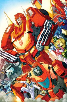 86 Autobots tribute colours by *markerguru on deviantART - Transformers Hot Rod, Wheelie, Springer, etc.