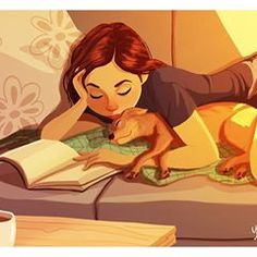 Yaoyao Ma Van As, cane, Yaoyao Ma Van As illustrazioni, Yaoyao Ma Van As illustration, Yaoyao Ma Van As living with a dog Living With Dogs, Photo Portrait, Dog Illustration, Website Illustration, Animal Illustrations, Fashion Illustrations, Dog Art, Cute Art, Art Director