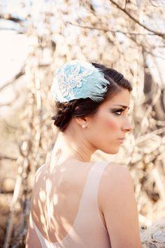 Romance inspired bridal hair comb, loveeee this!