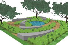 The Reconnection Garden / Jo Thompson Landscape and Garden Design