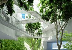 Logements rue Montbrun – Paris XIV programme: ensemble immobilier de 18 logements ECDM architectes