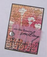 StarLitStudio: ATC--try a swipe of acrylic paint to stamp sentiment?