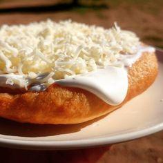 ungarische Langos / Langosch. Einfach im Wohnmobil frittieren › www.kochen-und-backen-im-wohnmobil.de