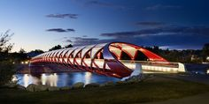 Peace Bridge / Calgary (Gallery) - Santiago Calatrava – Architects & Engineers