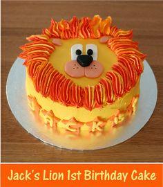 Decorating inspiration: Lion cake