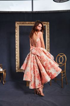 Through decorative design and rose color shades, petal details THAT are evident through Galia's creations. As the dresses are bountiful in silk tulle embroideries and Chantilly lace, this is a collection for queens. With this collection Galia wants you to believe in love and find magic.