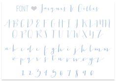 Lauren Elise Crafted - Blog - Font Love, Vol. XXX: Jacques andGilles