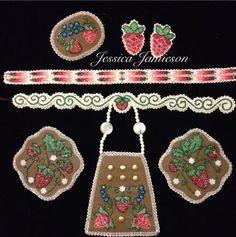 beaded set beadwork beadwork and Powwow Beadwork, Indian Beadwork, Native Beadwork, Native American Beadwork, Beaded Earrings, Beaded Jewelry, Jingle Dress, Beadwork Designs, Beading Patterns