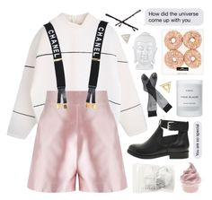 """~selling daylight for gasoline~"" by m-ade-line ❤ liked on Polyvore featuring Martha Medeiros, Chanel, Byredo, ASOS, Goody, Adina Reyter and Mateo"
