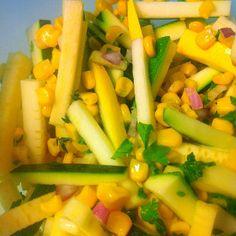 Summer Vegetable Salad with CitrusVinaigrette