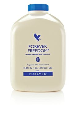 #ForeverFreedom combines #AloeVera with powerful ingredients in a tasty, orange-flavoured drink. The perfect way to begin your morning!#ForeverLiving http://link.flp.social/A4pMjX