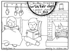 Too cold to play outside - printing this one for the kids.