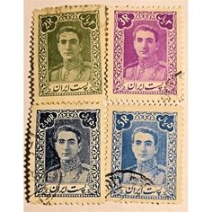 Iran, Reza Shah (1925-1941) 1941-1942, Set of 4 stamps used VF, Reza Shah (1878 – 1944), was the Shah of Iran (Persia) from 15 December 1925 until he was forced to abdicate by the Anglo-Soviet invasion of Iran on 16 September 1941. In 1925 four years after a British-assisted coup in 1921, Rezā Shāh officially deposed Ahmad Shah Qajar, the last Shah of the Qajar dynasty, and founded the Pahlavi dynasty. He established a constitutional monarchy that lasted until overthrown in 1979 during...