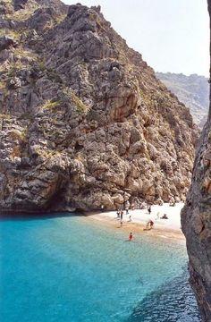 La crique de Sa Calobra - Majorque