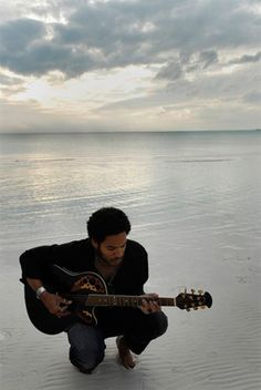 At one with nature ---> Lenny Kravitz