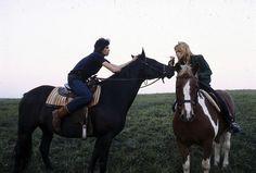 Keith Richards and Patti Hansen - Long View Farm; 1981