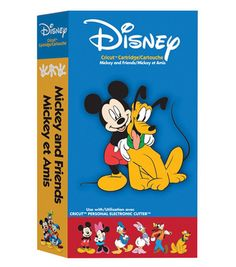 Cricut Disney Shape Cartridge Mickey And Friends at Joann.com