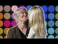 Defining beauty: Kids do their moms' makeup
