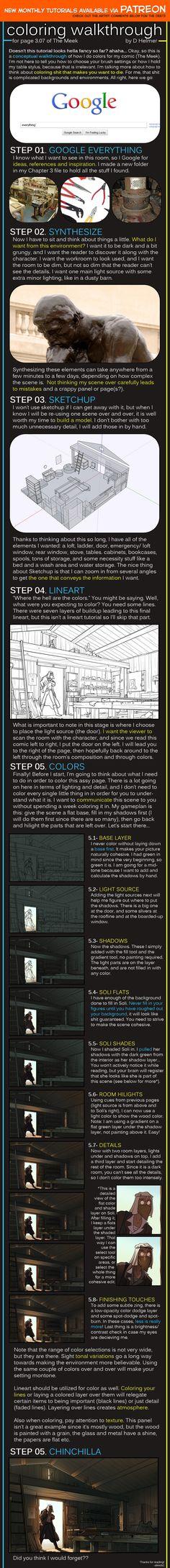 Coloring Walkthrough by shingworks