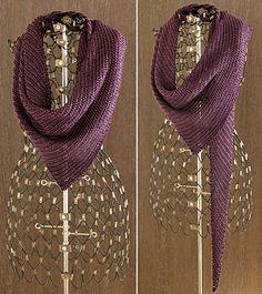 Free Pattern: Thin Edge of the Wedge by Shui Kuen Kozinski knit