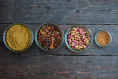 spices from a lebanese dish