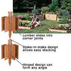 Raised Bed Garden   Raised Garden Corners   Jerry Baker