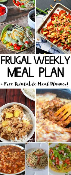 large family weekly meal plan 228 meals weekly meals and weekly