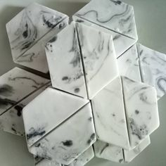 Black and white marble on soap. Custom order from @tj_calligraphy , thanks a lot! #handmadesoap #mpsoap #soapshare #marbledsoap #marble