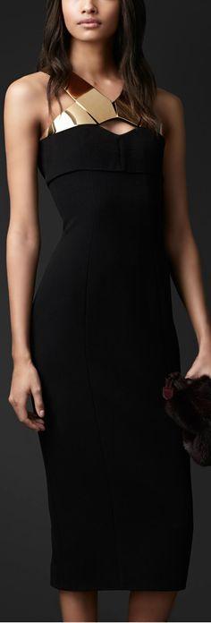Burberry Prorsum - Metal Strap Dress