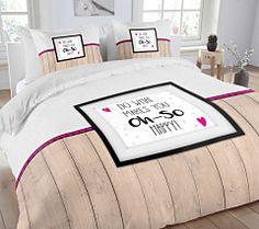 Holandské posteľné obliečky Comforters, Bed Pillows, Pillow Cases, Blanket, Happy, Furniture, Home Decor, Creature Comforts, Pillows