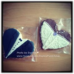 bride and groom biscotti | Share